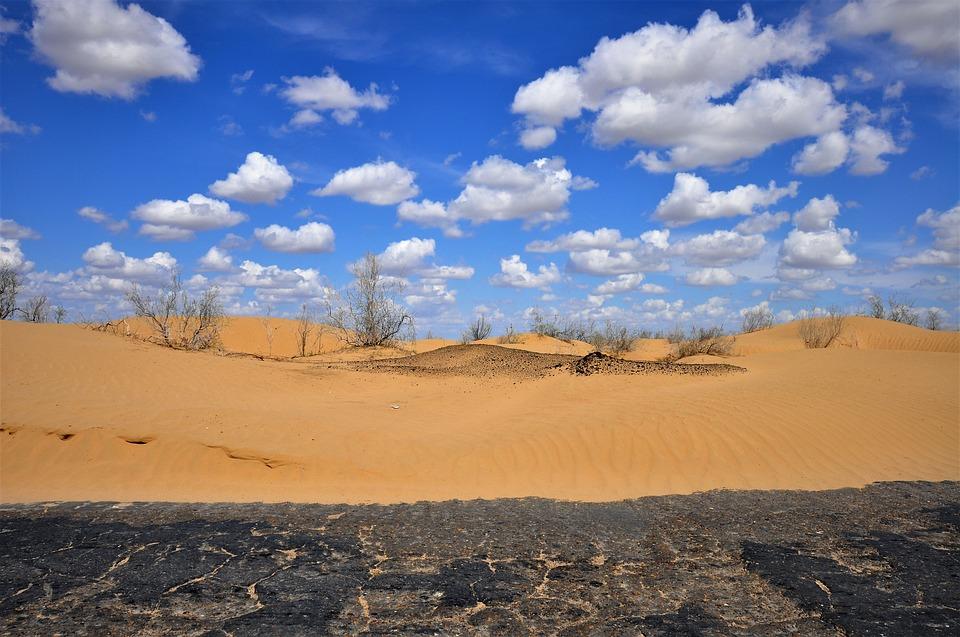 Deserto in Uzbekistan