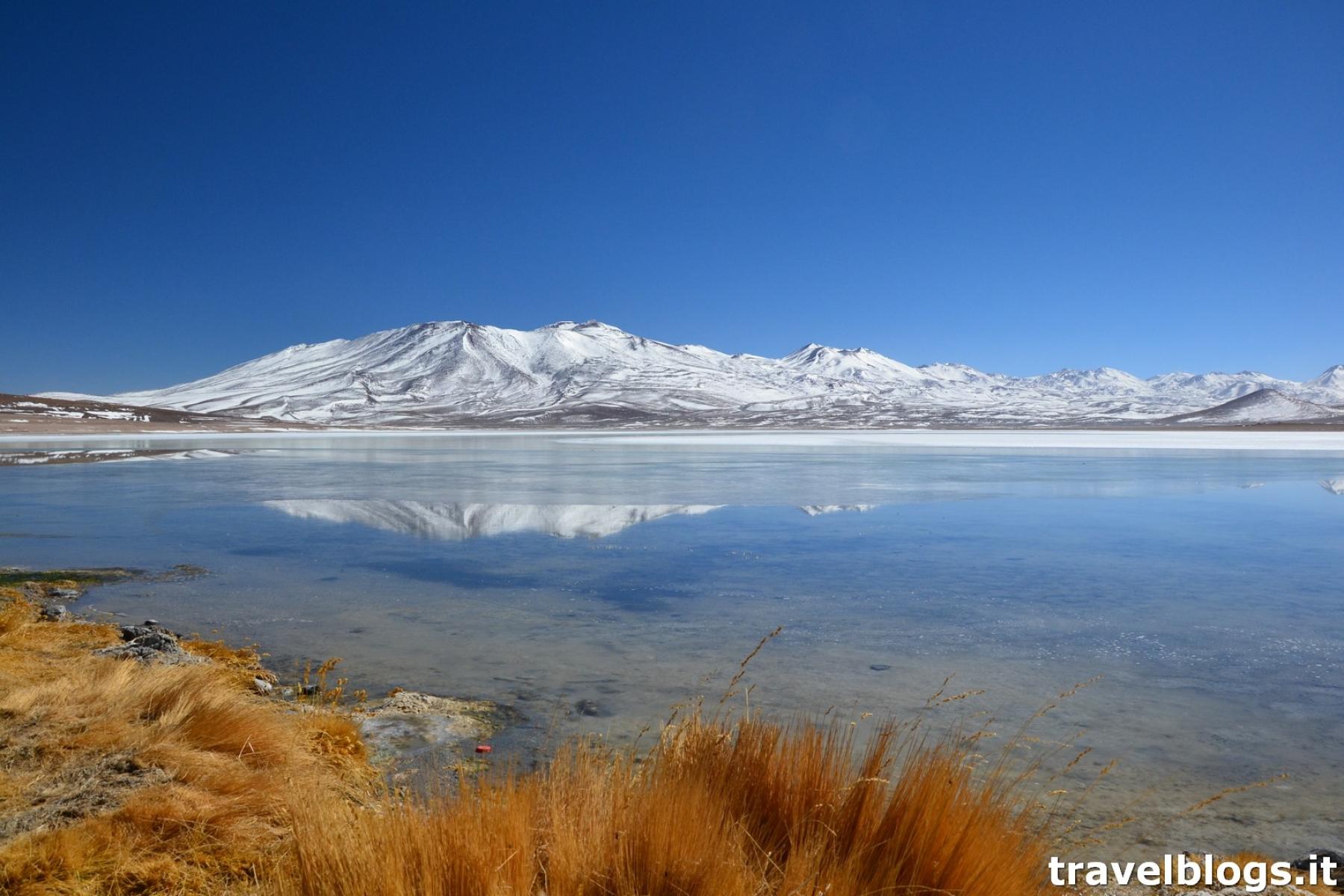 Laguna Bianca in Bolivia