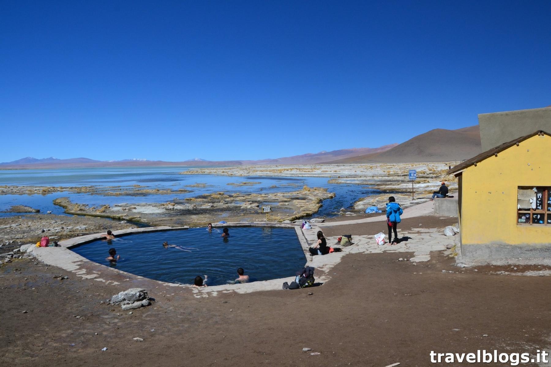 Terme di Polques in Bolivia