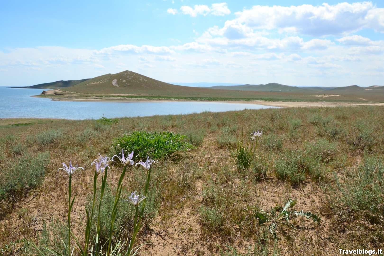 Lago tra Bukhara e Samarcanda