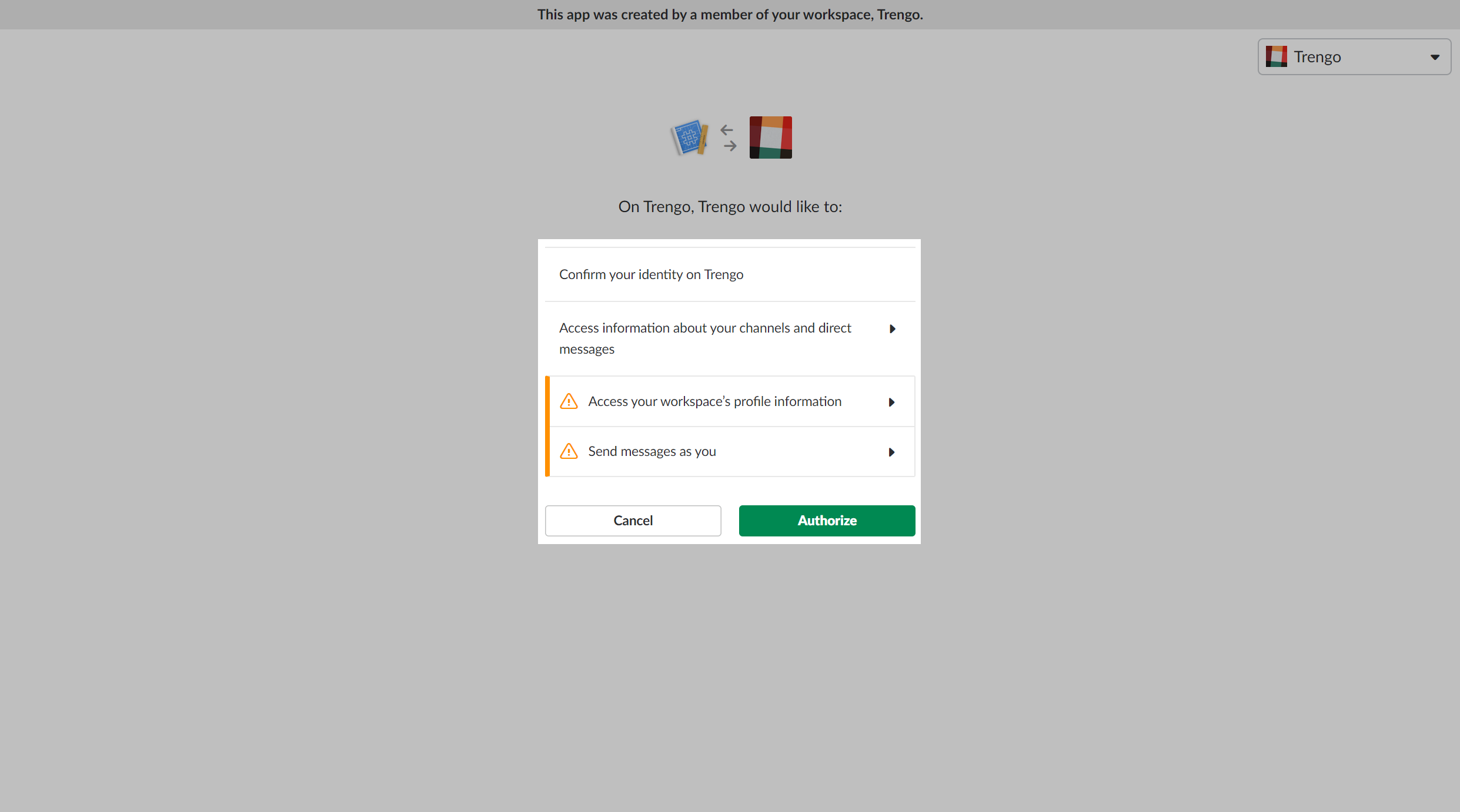 Connect Slack with Trengo and easily share messages with