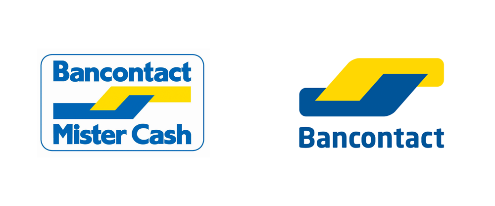 Brand New: New Logo for Bancontact by Kunstmaan   Storage baskets, Logos,  Basket