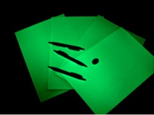 Фотолюминесцентная бумага А4, А5, А6 формата