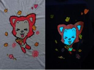 AcmeLight Plastizol самосветящаяся краска для печати по текстилю