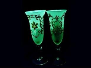 AcmeLight Glass Clasic самосветящаяся краска для стекла.