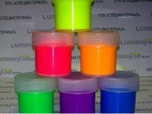 Как получить флуоресцентную краску