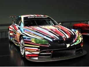 Французская художница разукрасила спортивный электромобиль Citro