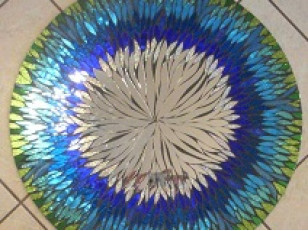 Мозаичные зеркала от Валери Уотсон.