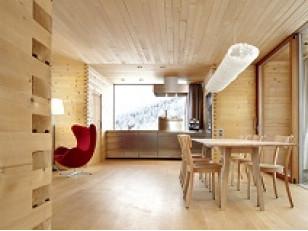 Деревянная вагонка – материал для внутренней отделки