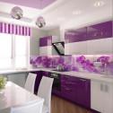 Кухонный фартук из стекла – практично и красиво!