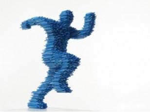 Скульптуры из ПВХ труб