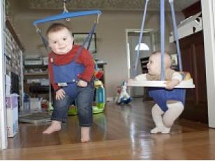 Все о детских прыгунках