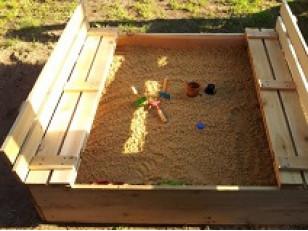 Детские песочницы своими руками.