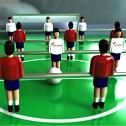 Детский настольный футбол.
