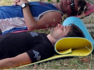 Как сделать туристический коврик самому