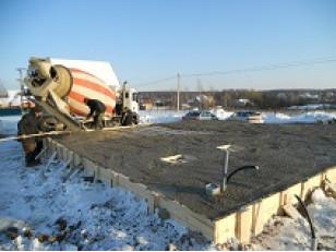 Противоморозные добавки. Сложности бетонирования зимой