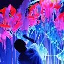 Необычные идеи для интерьера: рисунки флуоресцентными красками