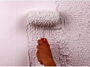 Декоративная штукатурка стен своими руками: техника нанесения