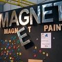 Магнитная краска в интерьере