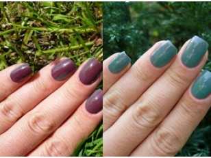Фотохромные пигменты для ногтей: шаг за шагом