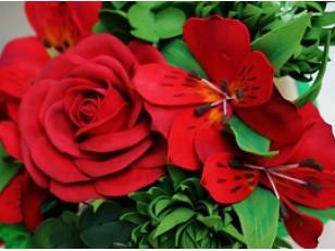 Краска для цветов: применение и виды