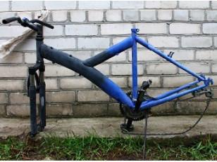 Как покрасить велосипед аэрозольной краской самому