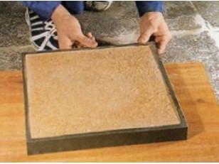 Как сделать смесь для тротуарной плитки своими руками