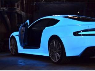 Технология покраски автомобиля с декоративными пигментами