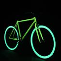 Применение люминесцентной краски: делаем светящийся велосипед