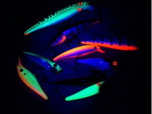 Применение флуоресцентных пигментов для рыболовных снастей