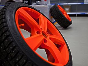 """Как покрасить диски авто аэрозольной краской с эффектом """"жидкая резина""""?"""