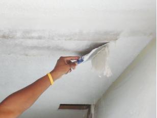 Краткое руководство по нанесению жидких обоев на потолок