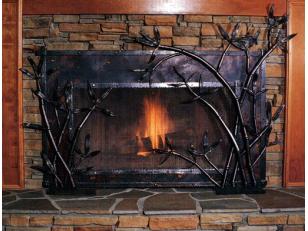 Нанесение термостойкой краски: окрашиваем каминную решетку