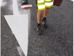 Как сделать надежную дорожную разметку с помощью красок
