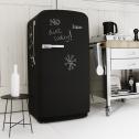 Реставрация холодильника с помощью грифельной краски
