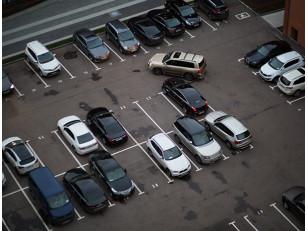 Краска для разметки парковки