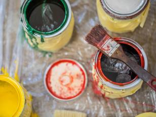 Краски: виды основ красок, их отличия, применение и свойства