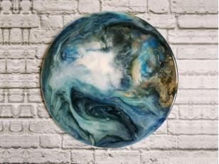 Resin Art: Техника создания картины из эпоксидной смолы