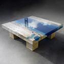 Как сделать светящийся стол из эпоксидной смолы: советы и секреты мастеров