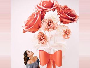 Изолон для творчества: Создание больших цветов из изолона совими руками