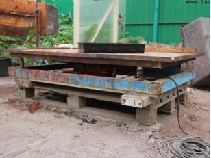 Вибростол: современный инструмент для работ с бетоном. Незаменим и очень удобен!