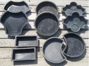 Как очистить формы для тротуарной плитки
