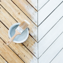 Технология нанесения акриловой краски для дерева