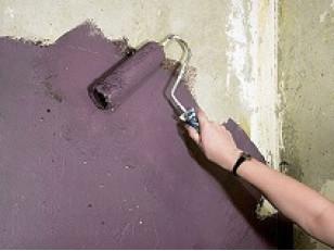 Краски по бетону – ЛКМ для фиброцементных плит