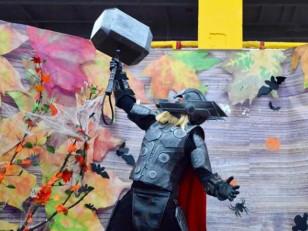 Доспехи, костюмы, маски из изолона