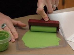 Технология окраски стекла (Paint for glass)