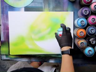 Картины аэрозольными красками