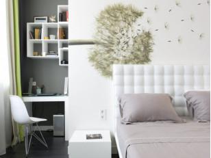 Выбор обоев для маленькой комнаты