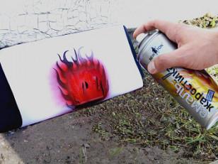 Жаростойкая краска в баллончиках