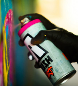 Краска для граффити - Tricolor